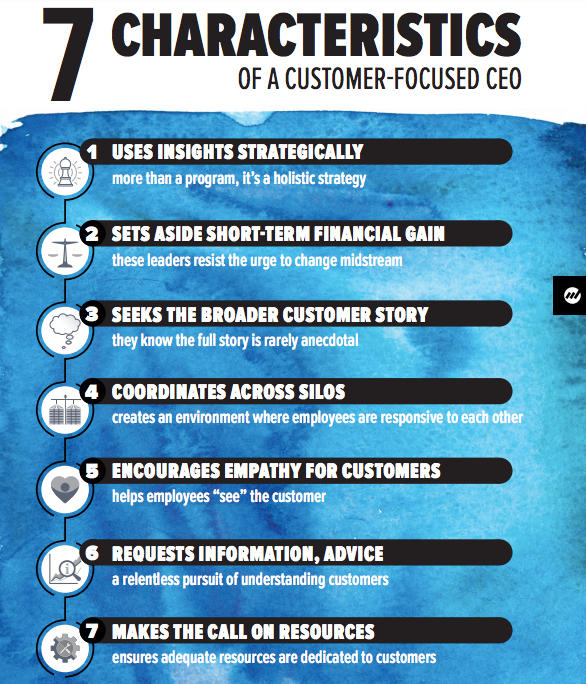 7 characteristics of a customer-focused ceo
