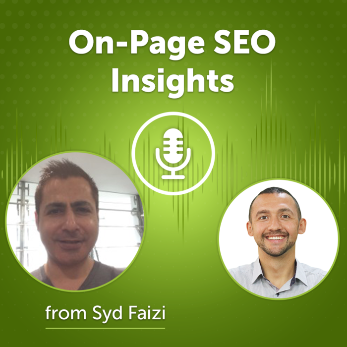 On-Page SEO Insights from Syd Faizi (Episode #43)
